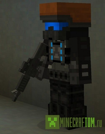 Текстуры Rex` Wasted 1.7.9 Minecraft