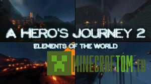 Карта A heros journey 2 elements of the world (Путешествие героев 2)